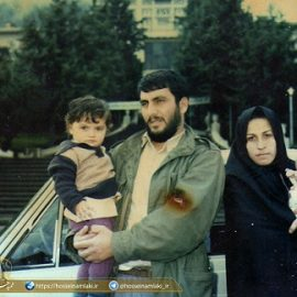 شهید حسین املاکی و هدیه حلقه ازدواج به جبهه