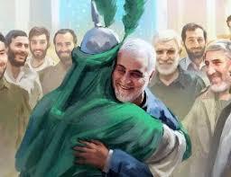 شهید قاسم سلیمانی و روضه حضرت عباس (ع)