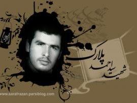 دست نوشته شهید سید احمد پلارک خطاب به امام زمان (عج)