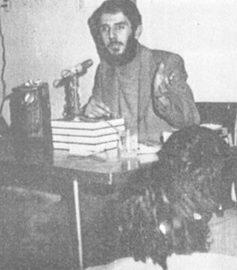 انس شهید عبد الحمید دیالمه با فرهنگ کتاب خوانی